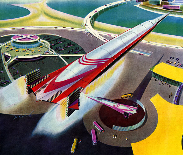 Space port of the future