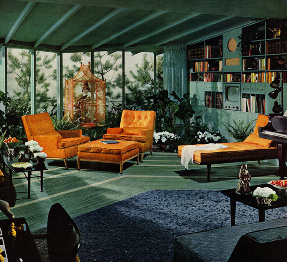 Plan59 retro 1940s 1950s decor furniture raybelle for Living room 1940