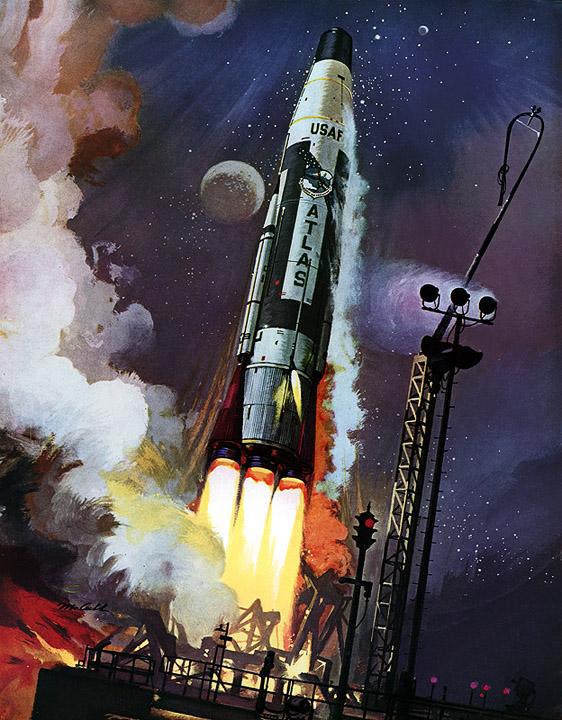 nasa rocket crashes paintings - photo #7