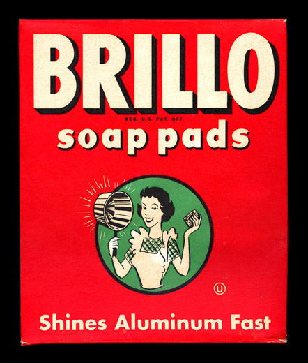 Brillo circa 1949 unopened box 5 188 x 6 189 x 2 190 inches photos home