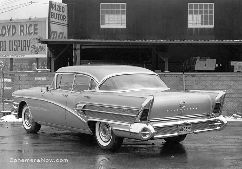 Buick Roadmaster. 1958 Buick Roadmaster 75