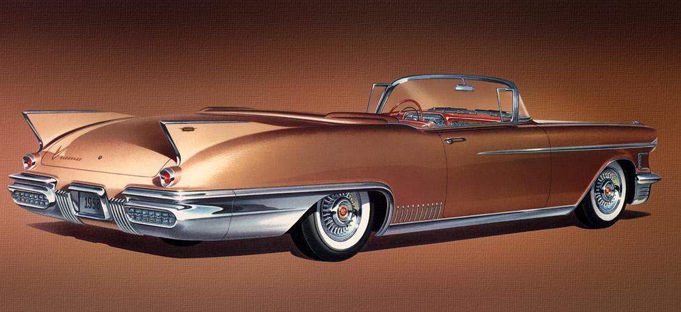 Cadillac 1958 Eldorado Biarritz 01