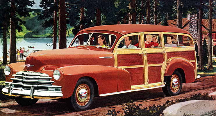 Plan59 :: Classic Station Wagons :: 1947 Chevrolet Station Wagon