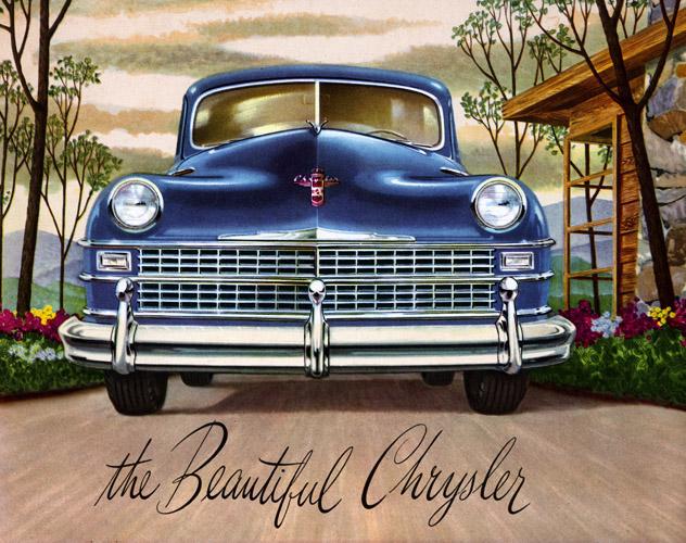 Plan59 :: Classic Car Art :: Vintage Ads :: 1947 Chrysler