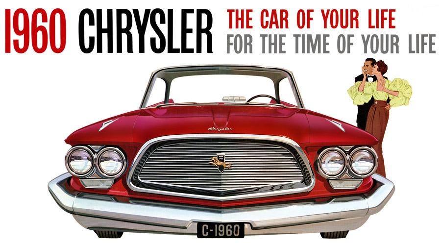 Plan Classic Car Art Vintage Ads Chrysler New Yorker - Classic car ads