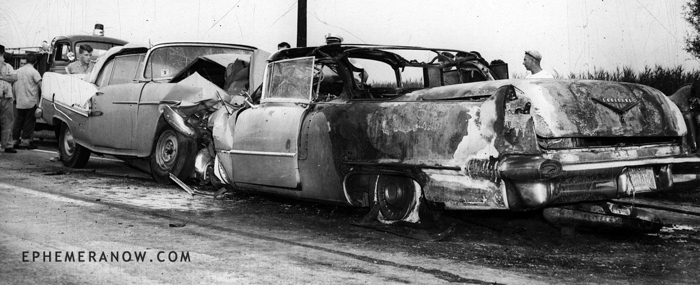 Car Crash: Car Crash 1950s