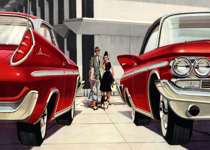 Plan59 :: Classic Car Art :: Vintage Ads :: 1960 DeSoto ...