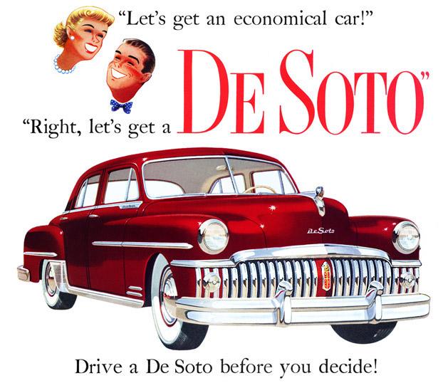 Plan59 :: Classic Car Art :: 1950 De Soto
