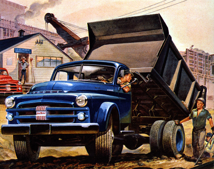 Plan59 classic truck art 1953 dodge job rated trucks sciox Image collections