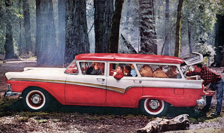 Woodies Station Wagons Ford Country Sedan