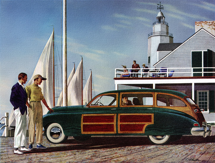 Keep your new car new - with Gulfpride! | Gulf Refining Co., 1949