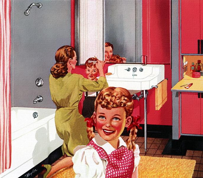 Plan59 1950s Decor Kohler Bathrooms And Kitchens 1947