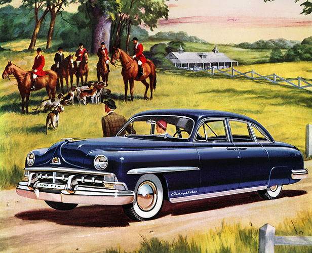 Plan59 Classic Cars Vintage Ads 1950 Lincoln