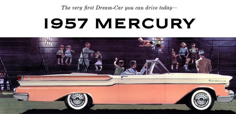 Plan Classic Car Art Vintage Ads Mercury Monterey - Classic car ads