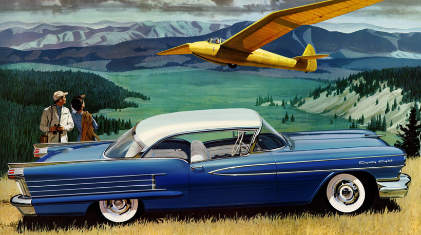 Classic Car Art Vintage Ads Olds