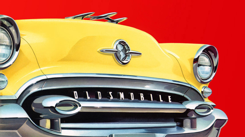 Plan  Classic Car Art  Vintage Ads   Oldsmobile