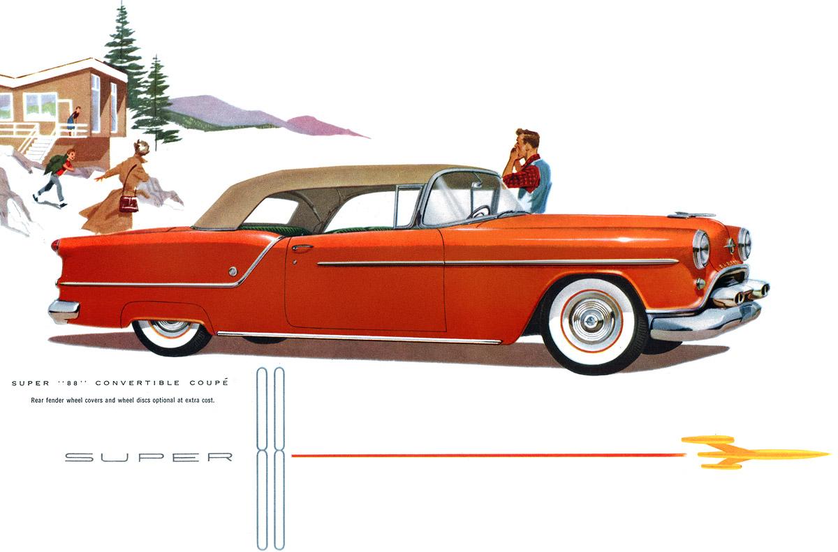 """1954 Olds Super """"88"""""""
