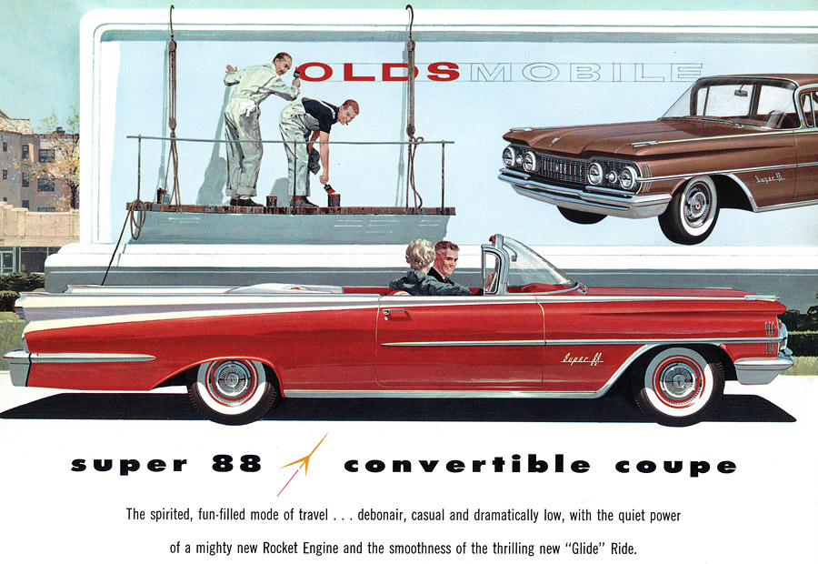1959 Oldsmobile Super 88 Convertible Coupe | Recently added Cars Home