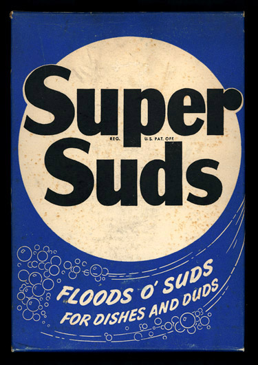 Super Suds soap powder