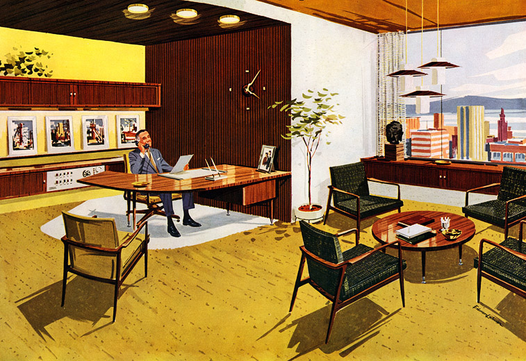 Plan59 retro 1940s 1950s decor furniture stow davis for 1950s decoration