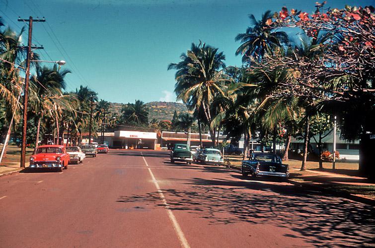 Historical Photos Street Scene Hawaii 1962