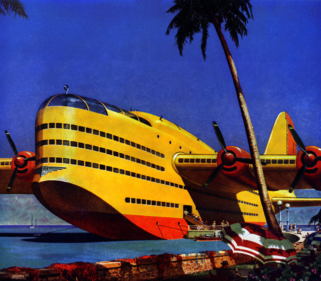 Plan59 Vintage Ads Mid Century Modern Seaplane Of
