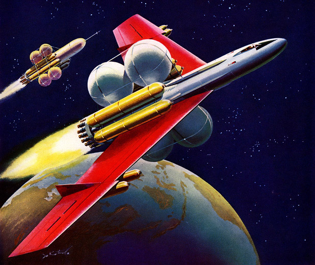 Vintage Space Art Galleryhipcom The Hippest Galleries