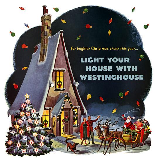 Plan59 :: 1950s Christmas Ads and Holiday Art :: Florian Kraner, 1950