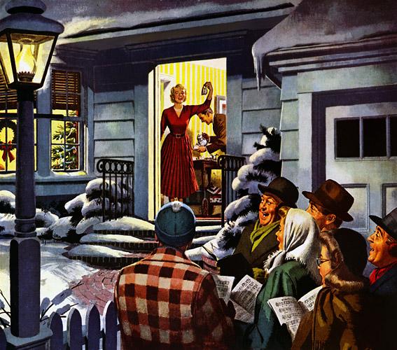 Plan59 :: Retro Vintage 1950s Christmas Ads and Holiday Art ...